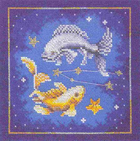 Рхема вышивки Знак Зодиака.Рак